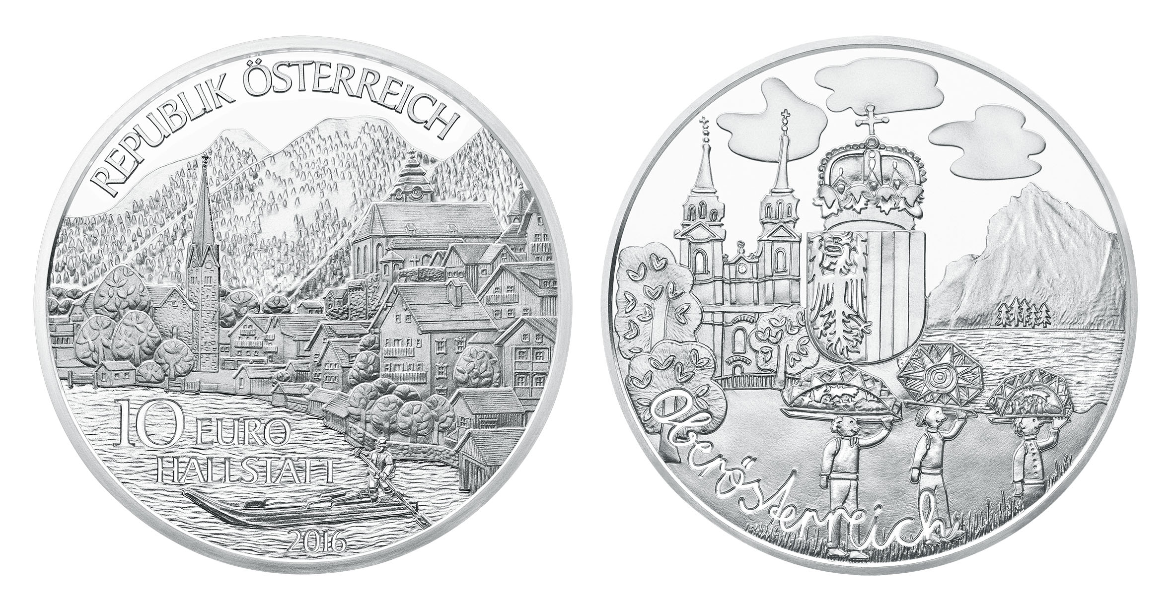 Numismatik Cafe Thema Anzeigen 10 Euro Münze Oberösterreich 2016