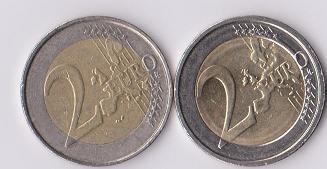 Numismatik Cafe Thema Anzeigen 2 Euro Fehlprägung